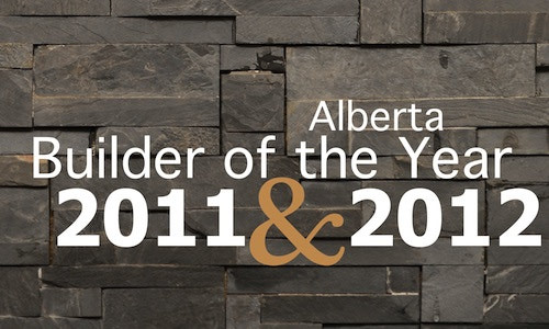 Consecutive Winner of the Ralph Scurfield Award - Alberta Builder of the Year